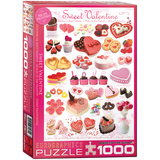 Sweet Valentine 1000 Piece Puzzle Jigsaw Puzzle