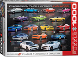 Dodge Charger Challenger Evolution 1000 Piece Puzzle Jigsaw Puzzle