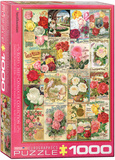 Roses Seed Catalogue Collection 1000 Piece Puzzle Jigsaw Puzzle