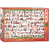 Holiday Cats 1000 Piece Puzzle Jigsaw Puzzle