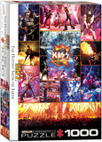 KISS The Hottest Show on Earth 1000 Piece Puzzle Jigsaw Puzzle