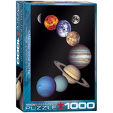 NASA The Solar System 1000 Piece Puzzle Jigsaw Puzzle