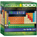 The Periodic Table of Elements 1000 Piece Puzzle Jigsaw Puzzle