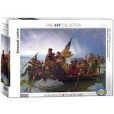 Washington Crossing the Delaware by Emanuel Leutze 1000 Piece Puzzle Jigsaw Puzzle