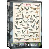 Bats 1000 Piece Puzzle Jigsaw Puzzle