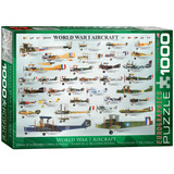 World War I Aircraft 1000 Piece Puzzle Jigsaw Puzzle