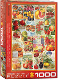 Fruits Seed Catalogue Collection 1000 Piece Puzzle Jigsaw Puzzle
