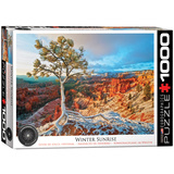 Winter Sunrise 1000 Piece Puzzle Jigsaw Puzzle