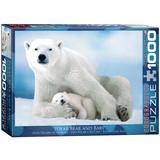 Polar Bear & Ba 1000 Piece Puzzle Jigsaw Puzzle