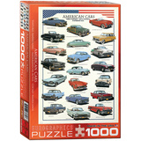 American Cars 1000 Piece Puzzle Jigsaw Puzzle