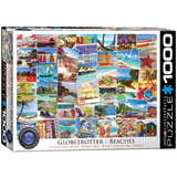 Globetrotter Beaches 1000 Piece Puzzle Jigsaw Puzzle