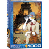 Paris Adventure by Helena Lam 1000 Piece Puzzle Jigsaw Puzzle
