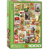 Vegetables Seed Catalogue Collection 1000 Piece Puzzle Jigsaw Puzzle