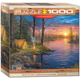 Evening Mist by Abraham Hunter 1000 Piece Puzzle Jigsaw Puzzle