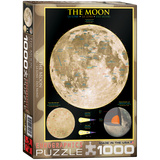 The Moon 1000 Piece Puzzle Jigsaw Puzzle