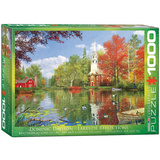 Lakeside Reflections by Dominic Davison 1000 Piece Puzzle Jigsaw Puzzle