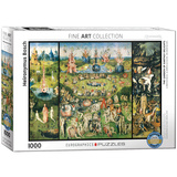 The Garden of Earthly Delights by Heironymus Bosch 1000 Piece Puzzle Jigsaw Puzzle
