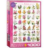 Orchids 1000 Piece Puzzle Jigsaw Puzzle