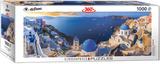 Santorini Greece 1000 Piece Puzzle Jigsaw Puzzle