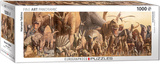 Dinosaurs by Haruo Takino 1000 Piece Puzzle Jigsaw Puzzle