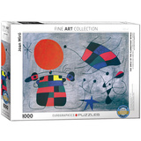 The Smile of the Flamboyant Wings by Joan Miró 1000 Piece Puzzle Jigsaw Puzzle
