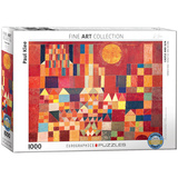 Castle and Sun by Paul Klee 1000 Piece Puzzle Jigsaw Puzzle