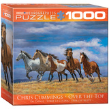 Over the Top by Chris Cummings 1000 Piece Puzzle Jigsaw Puzzle