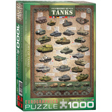 History of Tanks 1000 Piece Puzzle Jigsaw Puzzle