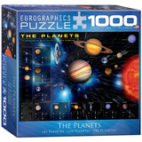 The Planets 1000 Piece Puzzle Jigsaw Puzzle