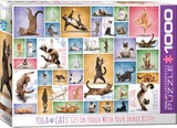 Yoga Cats 1000 Piece Puzzle Jigsaw Puzzle