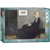 The Artist's Mother by James Abbott McNeil Whistler 1000 Piece Puzzle Jigsaw Puzzle