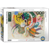 Dominant Curve by Wassily Kandinsky 1000 Piece Puzzle Jigsaw Puzzle