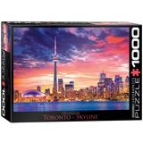 Toronto Skyline 1000 Piece Puzzle Jigsaw Puzzle