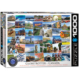 Globetrotter Canada 1000 Piece Puzzle Jigsaw Puzzle