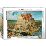 The Tower of Babel by Pieter Bruegel 1000 Piece Puzzle Jigsaw Puzzle