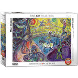 The Circus Horse by Marc Chagall 1000 Piece Puzzle Jigsaw Puzzle