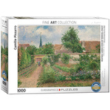 Vegetable Garden Overcast Morning Eragny by Camille Pissarro 1000 Piece Puzzle Jigsaw Puzzle