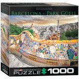 Barcelona Park Güell 1000 Piece Puzzle Jigsaw Puzzle