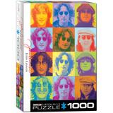 John Lennon Color Portraits 1000 Piece Puzzle Jigsaw Puzzle