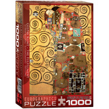 The Fulfillment by Gustav Klimt 1000 Piece Puzzle Jigsaw Puzzle