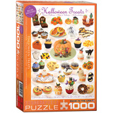 Halloween Treats 1000 Piece Puzzle Jigsaw Puzzle