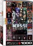KISS The Albums 1000 Piece Puzzle Jigsaw Puzzle