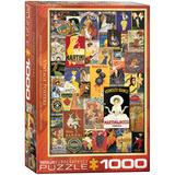 Vintage Posters 1000 Piece Puzzle Jigsaw Puzzle