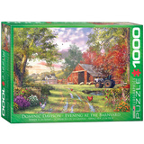Evening at the Barnyard by Dominic Davison 1000 Piece Puzzle Jigsaw Puzzle