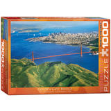 Golden Gate Bridge California 1000 Piece Puzzle Jigsaw Puzzle