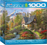 Nordic Morning by Dominic Davison 1000 Piece Puzzle Jigsaw Puzzle