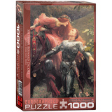 La Belle Dame sans Merci by Sir Frank Bernard Dicksee 1000 Piece Puzzle Jigsaw Puzzle