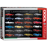 The Lamborghini Legend 1000 Piece Puzzle Jigsaw Puzzle