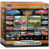 American Cars of the 1960s 1000 Piece Puzzle Jigsaw Puzzle