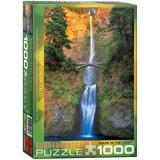 Multnomah Falls Oregon 1000 Piece Puzzle Jigsaw Puzzle